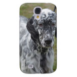 Adorable Black and White English Setter Samsung S4 Case