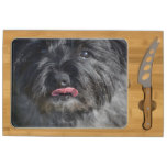 Adorable Cairn Terrier Cheese Board