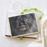 Adorable Cairn Terrier Jumbo Shortbread Cookie