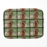 Adorable Irish Setter Burp Cloth