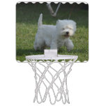 Adorable West Highland Terrier Mini Basketball Hoop