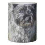 Black Cairn Terrier Flameless Candle