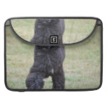Black Portuguese Water Dog Sleeve For MacBook Pro