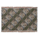 Blonde Saluki Dog Throw Blanket