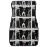 Border Collie Car Floor Mat