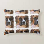 boxer-11 accent pillow