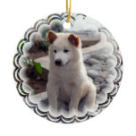 Chow Puppy Ornament