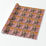 Cute Chocolate Lab Wrapping Paper