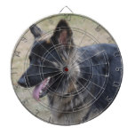 Cute Shiloh Shepherd Dartboard