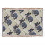 Cute Shiloh Shepherd Throw