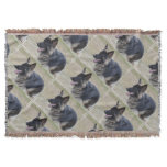 Cute Shiloh Shepherd Throw Blanket