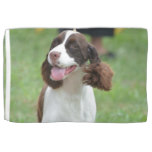 Cute Springer Spaniel Hand Towel