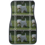 Cute West Highland Terrier Car Mat
