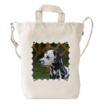 Dalmatian with Spots Duck Bag