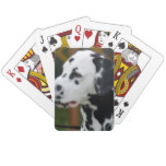 Dalmatian with Spots Playing Cards