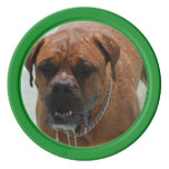 Drooling Bordeaux Mastiff Set Of Poker Chips