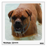Drooling Bordeaux Mastiff Wall Decal