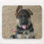 German Shepherd Puppy Mouse Pad