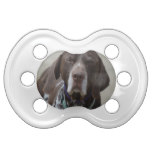 German Shorthaired Pointer Dog Pacifier