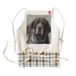 German Shorthaired Pointer Dog Zazzle HEART Apron