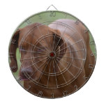 Great Vizsla Dog Dartboard With Darts
