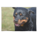 Guileless Rottweiler Cloth Placemat