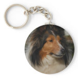 Miniature Collie Keychain