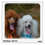 Pair of Poodles Wall Sticker