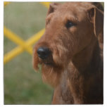 Really Cute Airedale Terrier Cloth Napkin