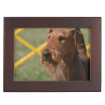 Really Cute Airedale Terrier Keepsake Box