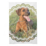 Rhodesian Ridgeback Rescue Kitchen Towel