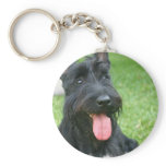 Scottish Terrier Dog Keychain