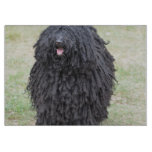 Shaggy Puli Dog Cutting Board
