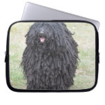 Shaggy Puli Dog Laptop Sleeve