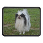 Smiling Japanese Chin Tow Hitch Cover