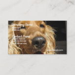 Spaniel Dog Business Card