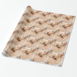 Sweet Golden Retriever Wrapping Paper
