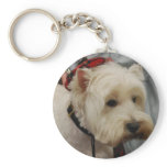 West Highland White Terrier Keychain