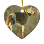 Whippet Dog Ornament