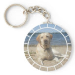 Yellow Labrador Retriever Keychain