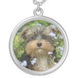 York Terrier Dog Necklace